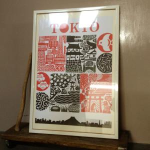 "Human Empire Artist Series ""Tokyo Poster"""